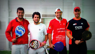 CON WILLY CASTAÑON , RAUL ARIAS Y MARCOS..