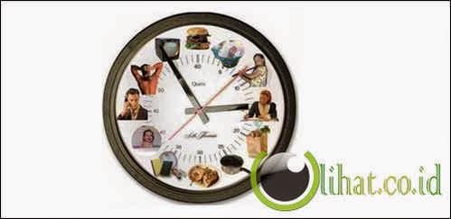 Sulit mengatur waktu atau jadwal