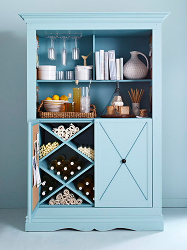 diy bar cabinet. DIY Bar Cabinet A fantastic idea  especially for those who are tight on space Transform an armorie into open bar cabinet equipped with everything you belle maison Project Gallery Furniture