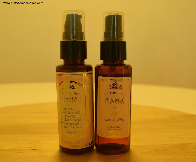 Kama Ayurveda Rose face cleanser