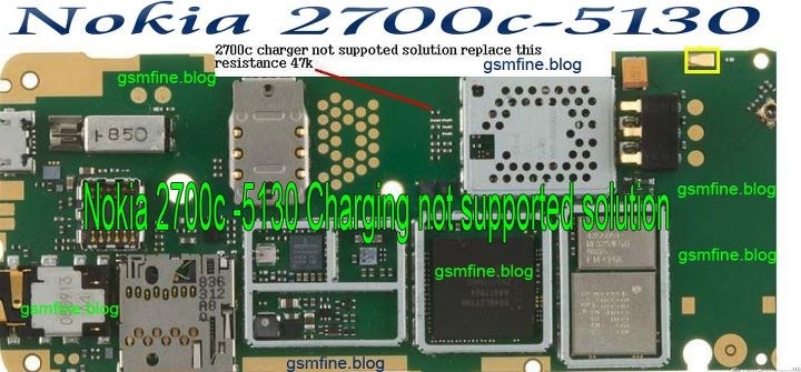 Nokia 5130c Charging Not Supported Solution