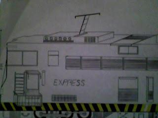 Trem - 3 (desenho)