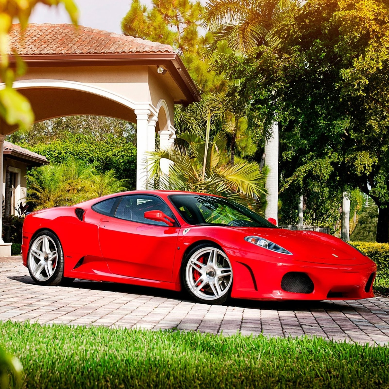 Ferrari F430: High Definition Wallpaper Club: ADV1 Wheels Ferrari F430