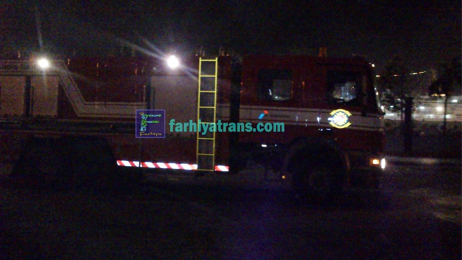 pengiriman tronton mobil pemadam kebakaran dari surabaya ke balikpapan dengan kapal cepat