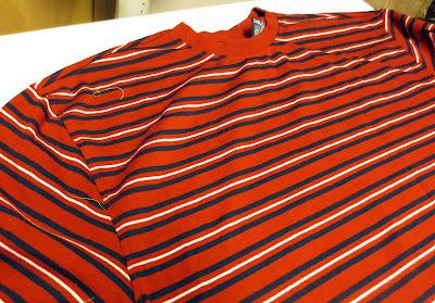 Men's knit shirt for bag lining