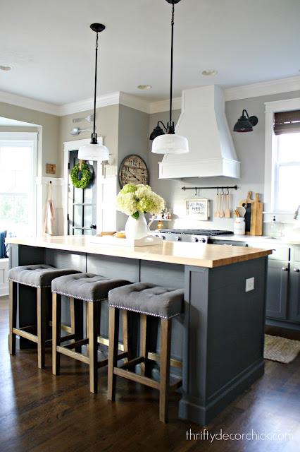 thrifty decor kitchen diys details and sources