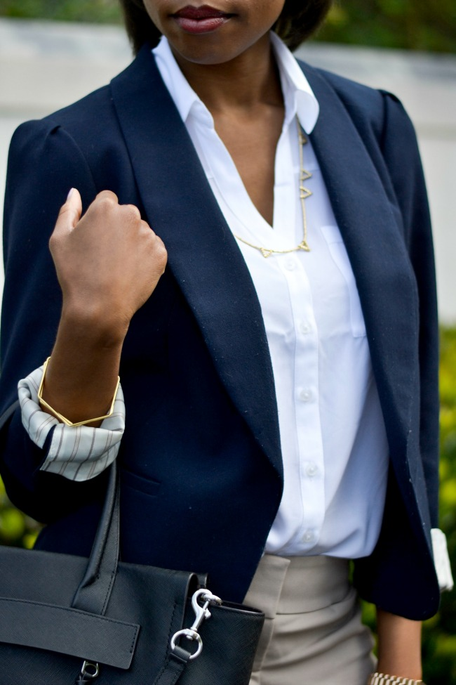 Blazer & Ankle Pants | Work Outfit