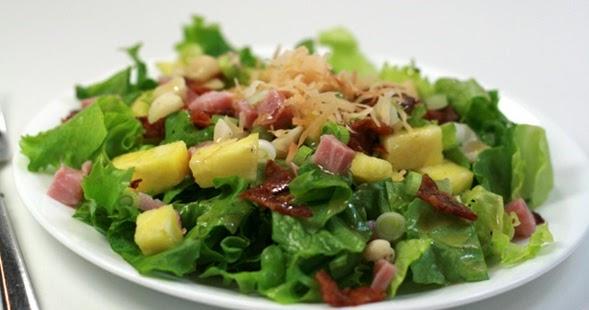 Ensalada tropical deliciosa y fresca recetas de cocina for Cocina rapida y sencilla
