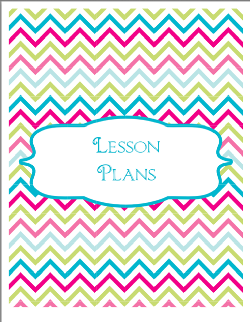 Printable Binder Cover Templates Chevron rosters binder cover