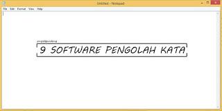 9 Software Pengolah Kata Terpopuler