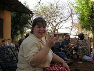 Tea in Mali Africa 2006