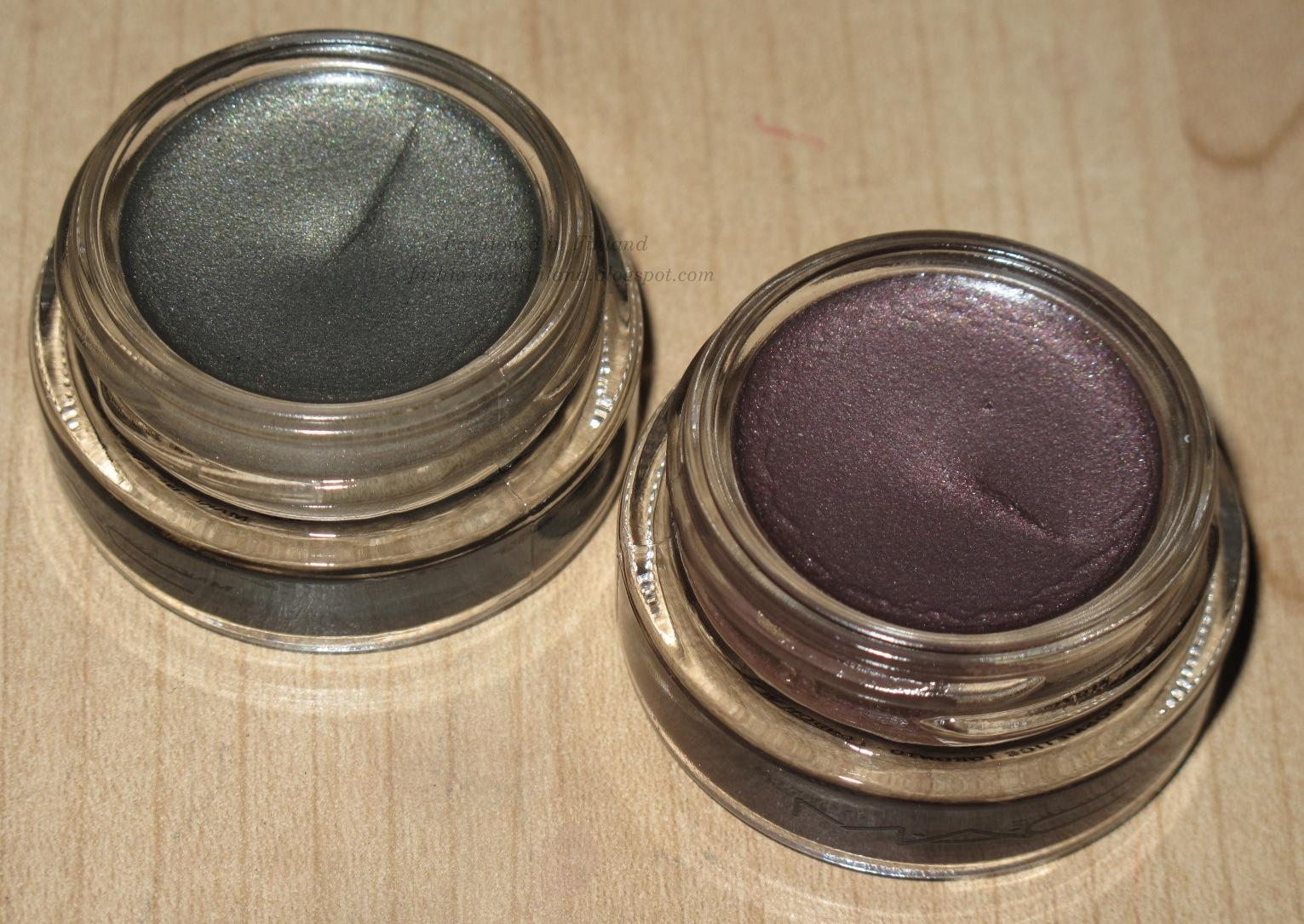 mac pro longwear paint pots frozen violet antique
