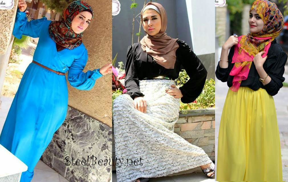 ازياء محجبات 2015   اجمل ازياء المحجبات   ملابس محجبات جنان   كولكشن ازياء محجبات