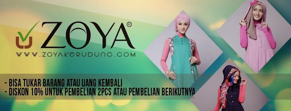 Zoya Kerudung | Jilbab | Selendang | pashmina | Asesoris | Bergo