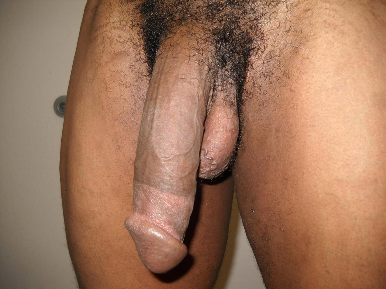 pic of black naked dicks on hard