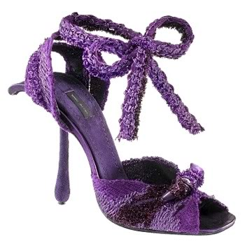 Purple Footware