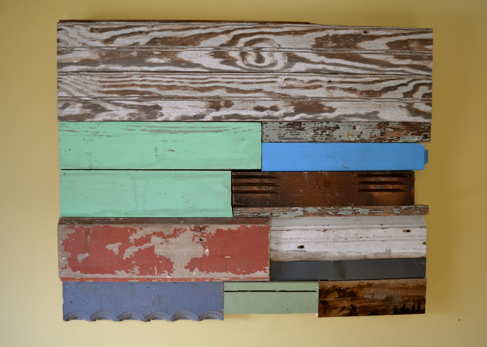 the domestic doozie diy reclaimed wood wall art