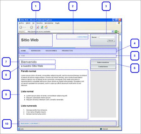Arquitectura y dise o grafico for Sitio web ministerio del interior