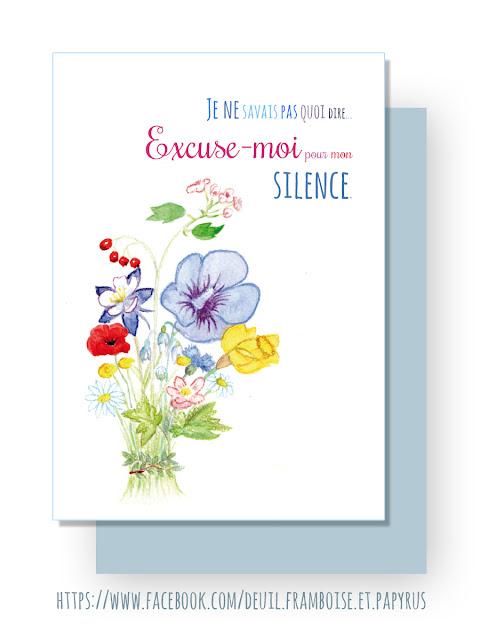 Carte d'excuses