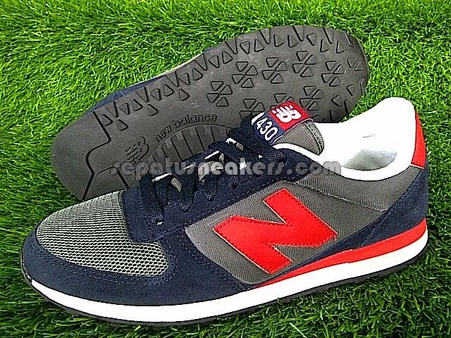 sepatu nb 430 ori charcoal black