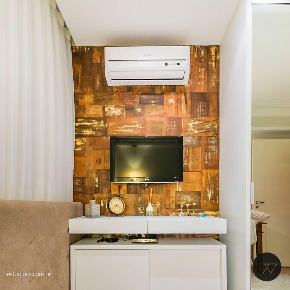 Um quarto rústico moderno! Jeito de Casa Blog de Decoração ~ Quarto Rustico Em Madeira