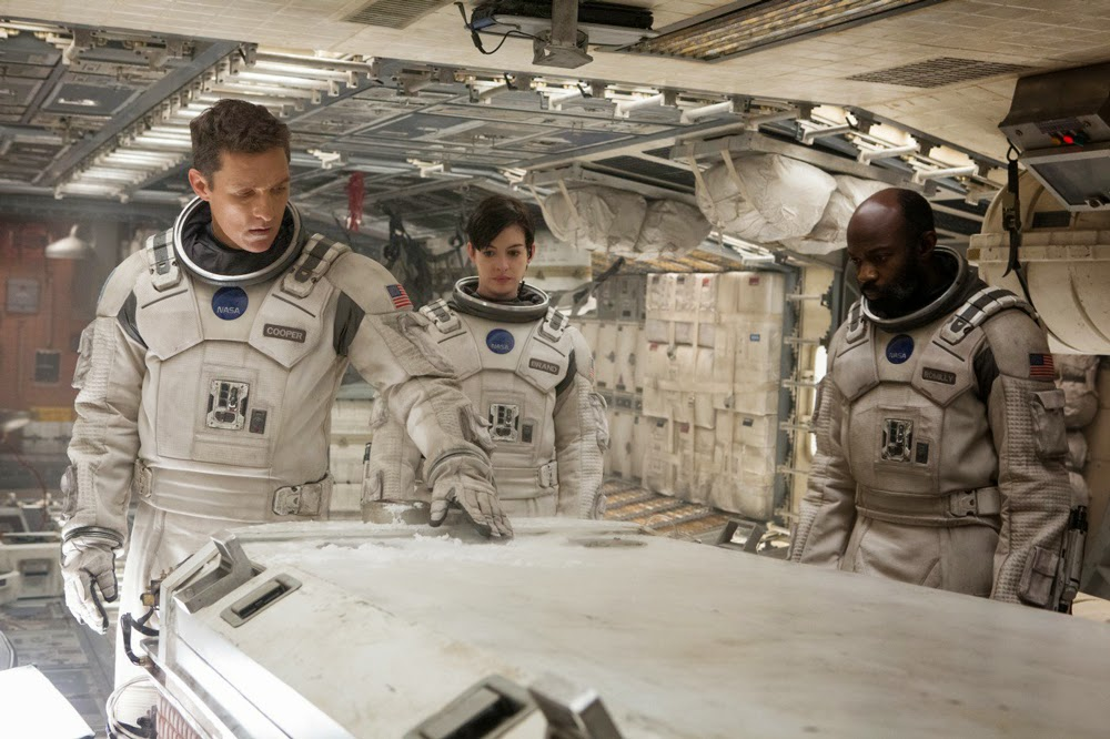Anne Hathaway, David Gyasi, and Matthew McConaughey in Interstellar