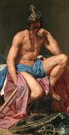Descanso de Marte - Velázquez (1640). Museo del Prado. Madrid