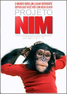Filme Poster Projeto Nim DVDRip XviD & RMVB Dublado