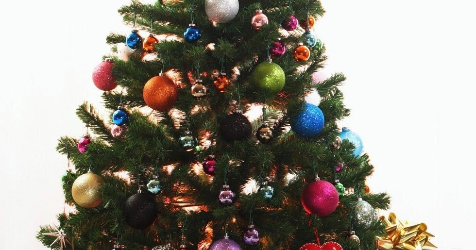 Decoracion mueble sofa arbol navidad colores - Arboles de navidad colores ...