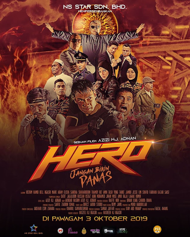 3 OKTOBER  2019 - HERO : Jangan Bikin Panas (Malay)