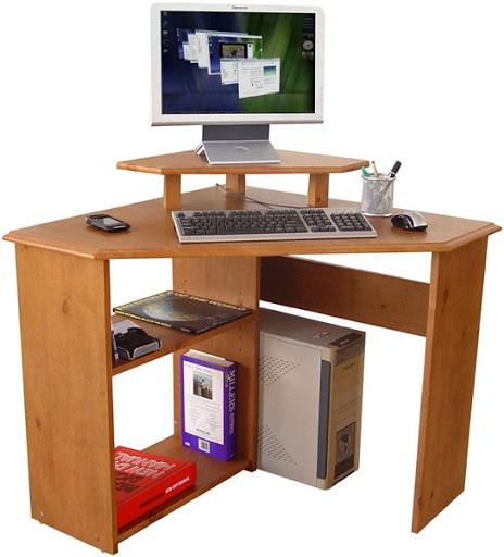 gambar meja dan kursi komputer dan laptop desain unik simple dan minimalis modern terbaru 2015/2016