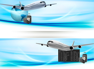 fondo avion en vector