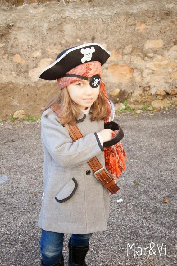 Disfraz casero de pirata