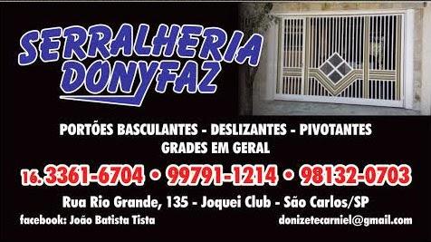 SERRALHEIRA - DONYFAZ - São Carlos/SP