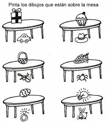 Los peques del tirso fichas repaso matem ticas for Trabajos por debajo de la mesa