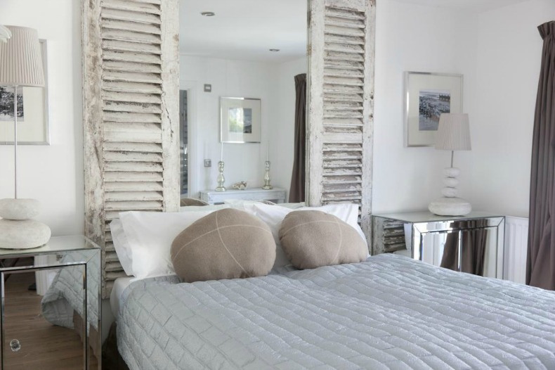 coastal beach house guest bedroom