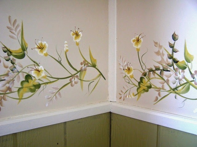 Hand Painting Designs On Walls : hand painted wall art ideas