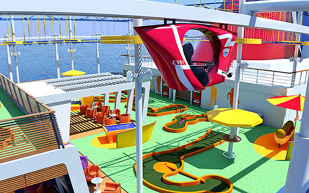 Carnival ships are ideal for family cruises