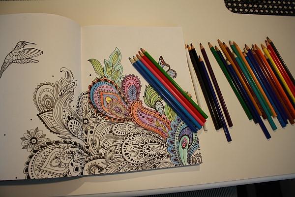 målarbok för vuxna blogg