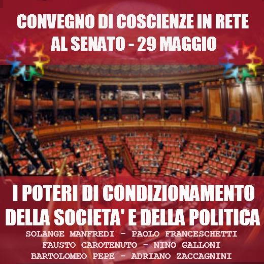Paolo franceschetti roma 29 maggio convegno presso il for Senato della repubblica indirizzo
