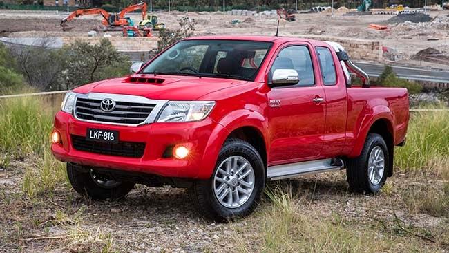 Toyota Hilux 2014 picape de luxo