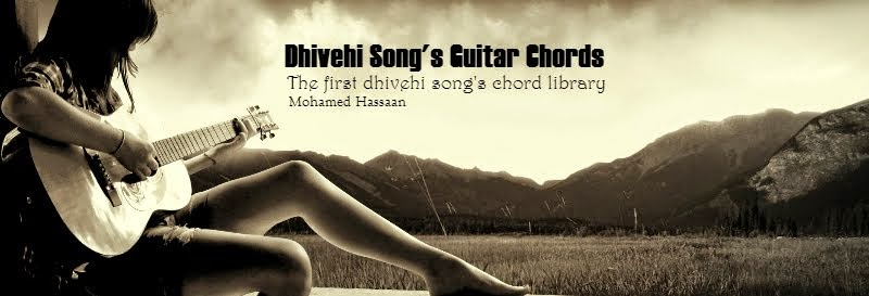 Dhivehi Song Guitar Chords