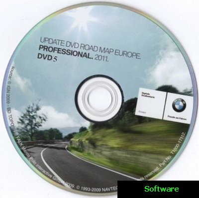 BMW Road Map Europe (2011)