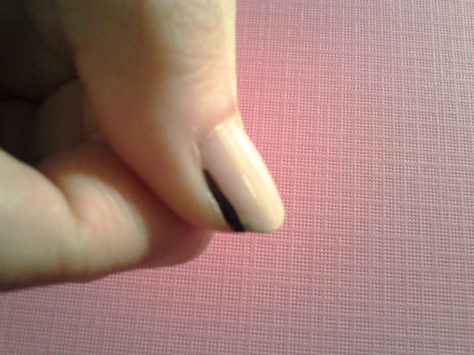 Drawing Lines On Nails : Nailholics unite a bridged nails tutorial
