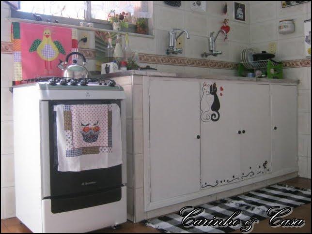 Carinho e casa: Minha cozinha simples e fofa!