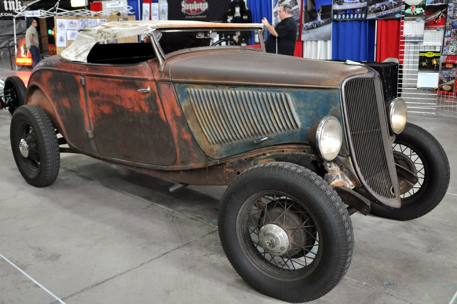 Just A Car Guy: unrestored, uncustomized, and not a rat rod. Just cool.