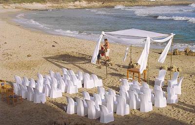 Foto Heirat am Strand