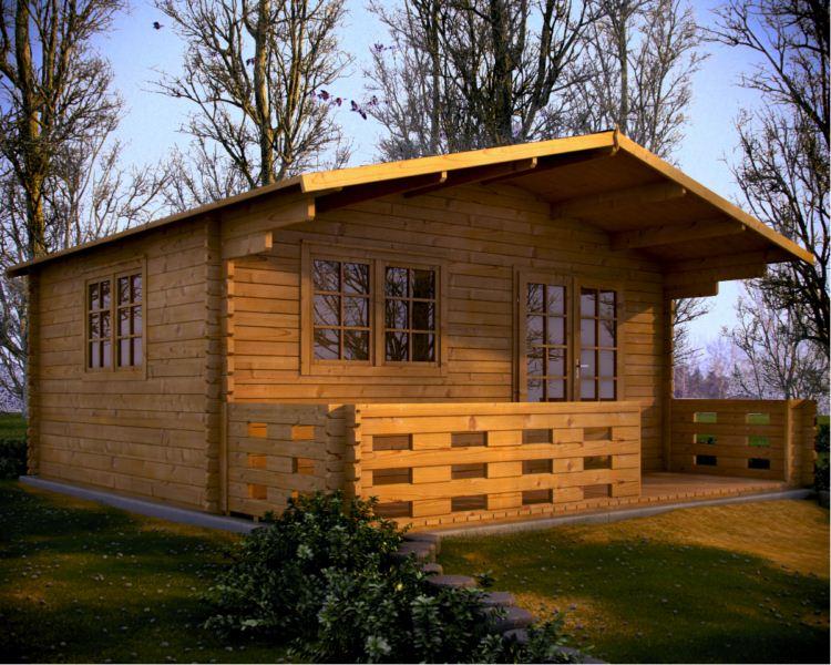maison en bois les bungalows en bois. Black Bedroom Furniture Sets. Home Design Ideas