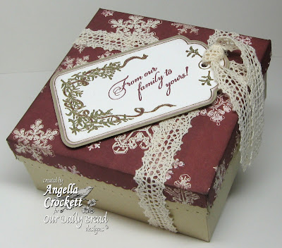 "Our Daily Bread designs ""Christmas Tag Bundle"" Designer Angie Crockett"