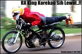 Kumpulan gambar hasil modifikasi RX king terbaru